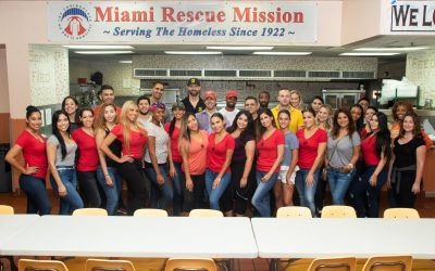 Miami Model Citizens Volunteer Day at Miami Rescue Mission